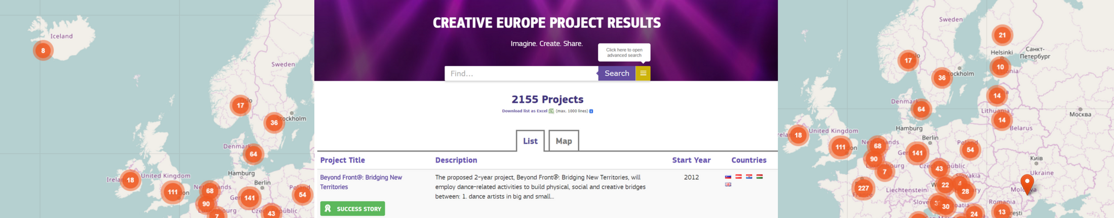 Creative Europe Dissemination platform Lithuania